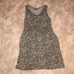 Merona leopard dress/tunic